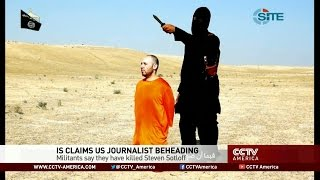 See the news report video by Video purports to show execution of U.S. journalist Steven Sotloff