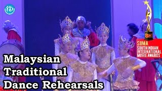 Malaysian Traditional Dance Rehearsals@SIIMA 2014 - IDREAMMOVIES