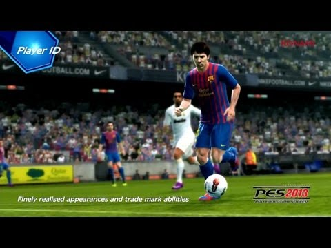 "***NEW*** OFFICIAL PES 2013 | ""Player ID"" & ""ProActive AI"" Gameplay"