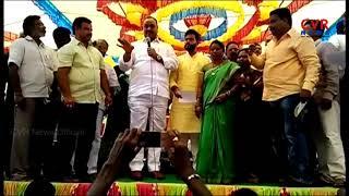 MP Acham Naidu Praises CM Chandrababu Naidu | Distribute Checks for Titli Cyclone Victims | CVR NEWS - CVRNEWSOFFICIAL