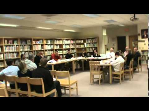 New Hartford Central School Athletics Advisory Committee meeting May 13, 2013