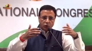 congress Leader Randeep Surjewala Press Briefing Over PM Modi American Tour | Mango News - MANGONEWS