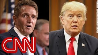 Flake caught on hot mic talking about Trump - CNN