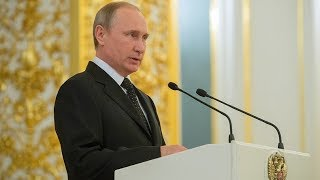 Putin addresses Russian ambassadors and permanent representatives - RUSSIATODAY