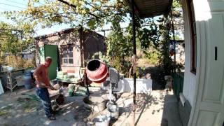 Частный дом - ремонт день #58 Заливка пола в зале