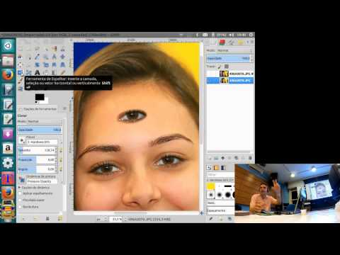 Cirurgia Plástica e Maquiagem Digital com o GIMP
