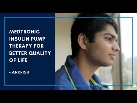 Medtronic Insulin Pump Therapy for Better Quality of Life - Ankrish