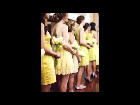 Idei pentru o Nunta tematica solara - Sun themed wedding