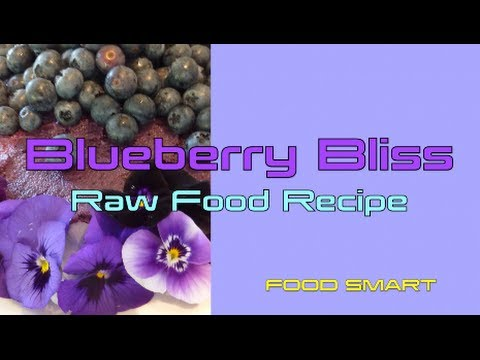 Blueberry Bliss Cake Raw Food Recipe