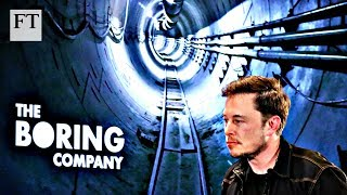 Elon Musk's plans for tunnel travel - FINANCIALTIMESVIDEOS
