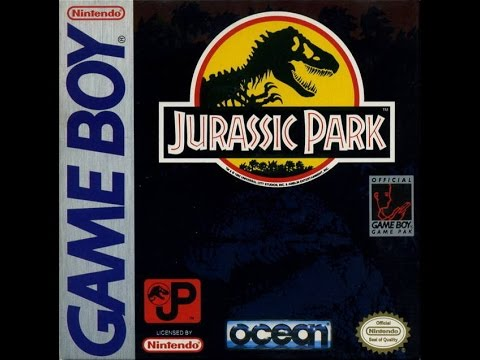 Gaming Paraphilia: Quick Let's Play of Jurassic Park for Game Boy