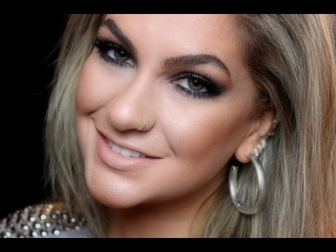 Lentes verdes e maquiagem para olhos verdes por Alice Salazar