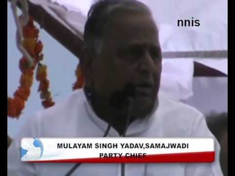 Mulayam Sticks To His Stand Over  Wrong Anti-Rape Law