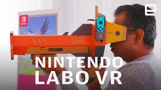 Nintendo Labo VR Kit Hands-On - ENGADGET