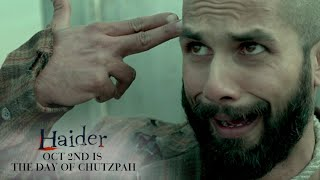 Haider | Oct. 2nd Is The Day of Chutzpah | Shahid Kapoor & Shraddha Kapoor - UTVMOTIONPICTURES