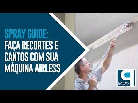 Spray Guide: Faça recortes e cantos com sua máquina airless - www.lojadoprofissional.com.br
