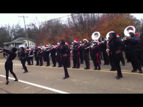 Prentiss high school marching band