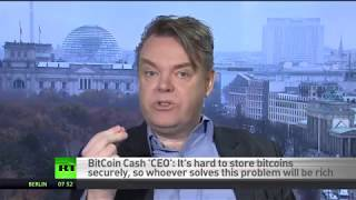 Bitcoin cash 'CEO': We won't need banks anymore - RUSSIATODAY