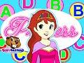 """Princess ABCs"" #1 | Alphabet Learning Fairy Princess, Teach Kindergarten Phonics"