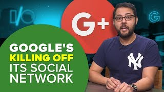 Google+ is getting the ax early (Alphabet City) - CNETTV