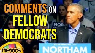 Barack Obama Comments On Fellow Democrats Over Division and fear In Politics - MANGONEWS