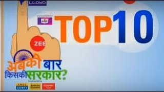 Election Top 10: Watch top 10 news of general elections - ZEENEWS