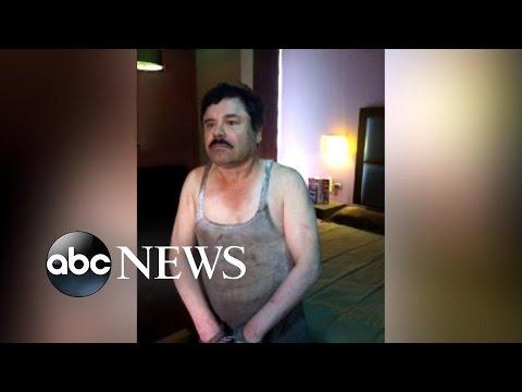 El Chapo ujęty