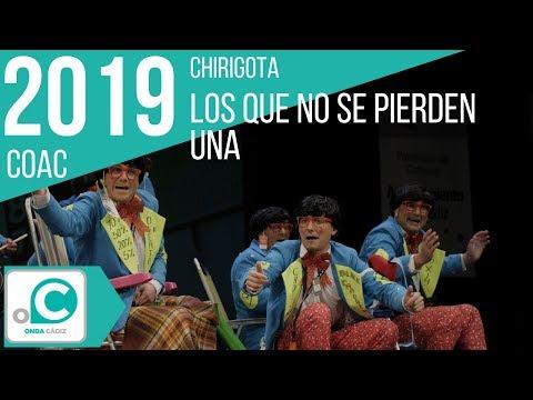 La agrupación Los que no se pierden una llega al COAC 2019 en la modalidad de Chirigotas. Primera actuación de la agrupación para esta modalidad.
