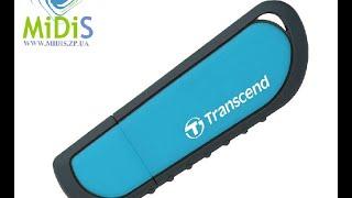 Распаковка: USB флеш накопитель Transcend 32Gb JetFlash V70 (TS32GJFV70)