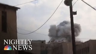 Syrian Government Intensifies Bombing Campaign On Damascus Suburb | NBC Nightly News - NBCNEWS