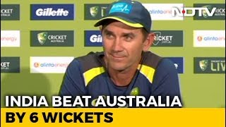 Australia Coach Justin Langer's Press Conference - NDTV
