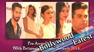 60th Britannia Filmfare Awards: Celebs At The Pre-Awards Party - THECINECURRY