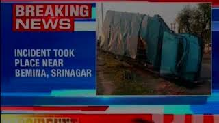 CRPF men hurt after vehicles skids off road; incident took place near Bemina, Srinagar - NEWSXLIVE