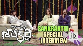 Gautamiputra Satakarni team Sankranthi special interview - idlebrain.com - IDLEBRAINLIVE