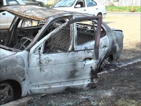 Incendiaron un auto