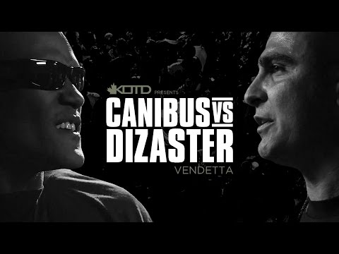 KOTD - Rap Battle - Canibus vs Dizaster (**OFFICIAL FULL HD BATTLE**)