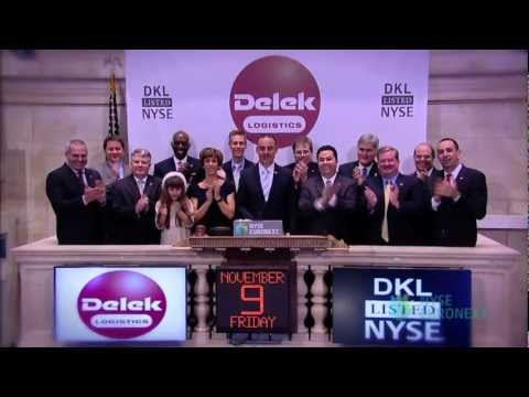 Delek Logistics Partners, LP Celebrates IPO on the New York Stock Exchange