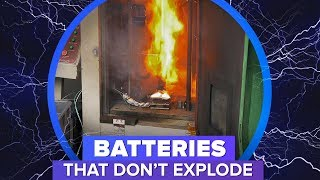 Shoot, stab or crush this battery -- and it still won't explode - CNETTV
