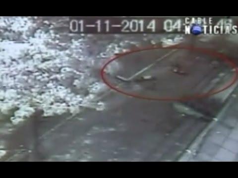 Así fue el accidente que causó el carro diplomático venezolano