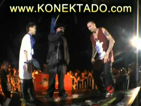 SuNuGAN,BATTLE OF THE TWIN TOWERS,  KONEKTADO HEeZ TV 2 NGONGI vs ALEX CRISANO