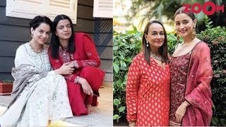 Kangana Ranaut's sister Rangoli ATTACKS Alia Bhatt and mom Soni Razdan - ZOOMDEKHO