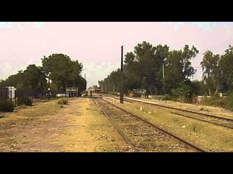 Pakistan Railways: New Chinese Locomotive (ZCU20) with an Express