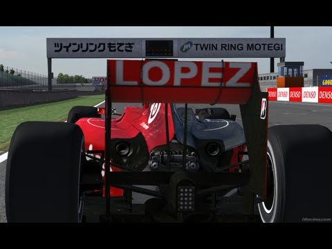 Motegi Grand Prix 2013 onboard Williams F1, iRacing World Championship