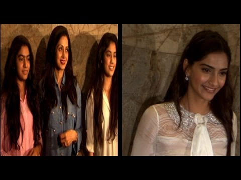 Special Screening Of 'FUGLY' | Sridevi Ignores Sonam Kapoor