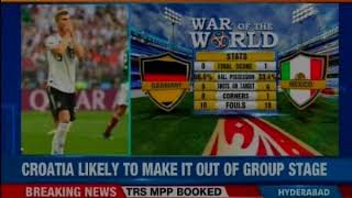 Fifa World Cup: Nigeria off to a bad start; Croatia likely to make it out of group stage - NEWSXLIVE