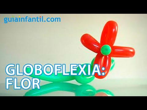 Globoflexia: aprende a hacer una flor