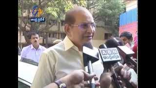 Cine Actor Krishna Donates 25 Lakhs Cheque To Cyclone Effected People On Behalf Of Mahesh Babu - ETV2INDIA