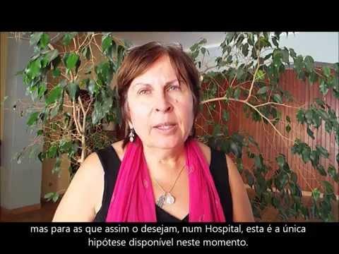 BARBARA HARPER apoia o PARTO na ÁGUA em PORTUGAL