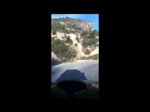 camino a las grutas de tolantongo, de bajada