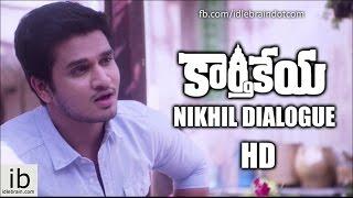 Karthikeya Nikhil Dialogue teaser - idlebrain.com - IDLEBRAINLIVE